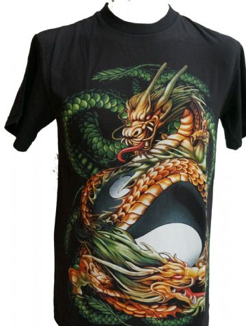 The Dragon And Her Egg T Shirt With Large Back Print